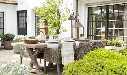 Holiday in your own garden: how to style your outdoor space